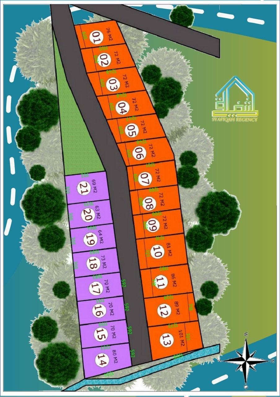 siteplan syafiqah regency