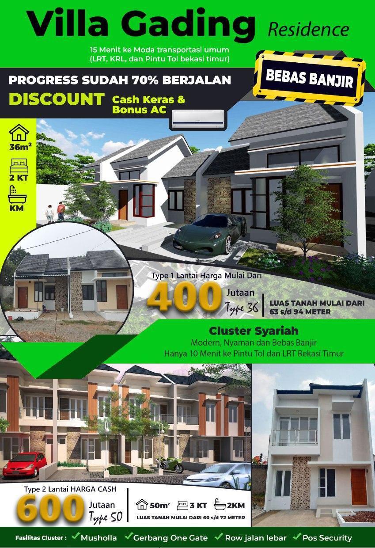 Villa Gading Residence – Cluster Syariah di Kawasan Emas Kota Bekasi 1