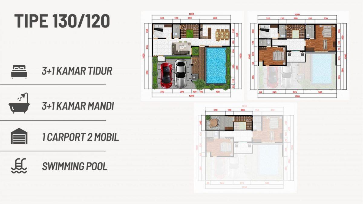Pesona Remboelan Serpong - Rumah 2 Lantai Cukup DP 34 Juta Langsung Akad 18