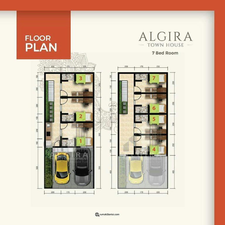 Algira Townhouse – Rumah Mewah di Pusat Kota Bogor, Cocok Untuk Investasi Maupun Hunian 10
