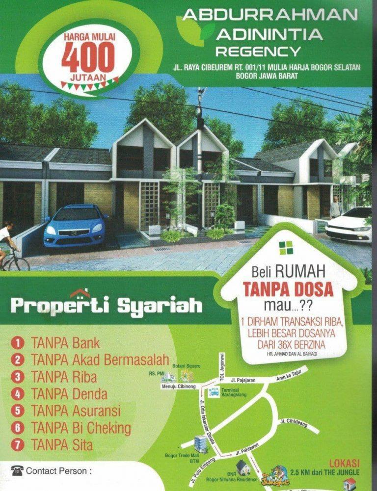 Abdurrahman Adinintia Regency - Rumah Syariah Bogor Selatan 3