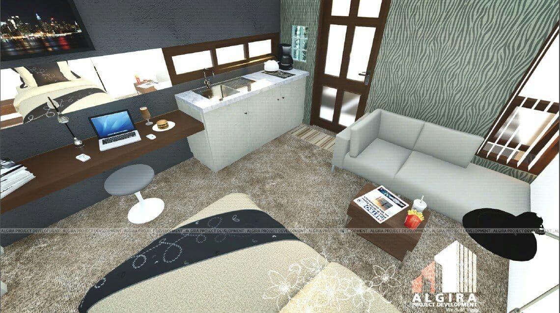 interior algira 11 dramaga