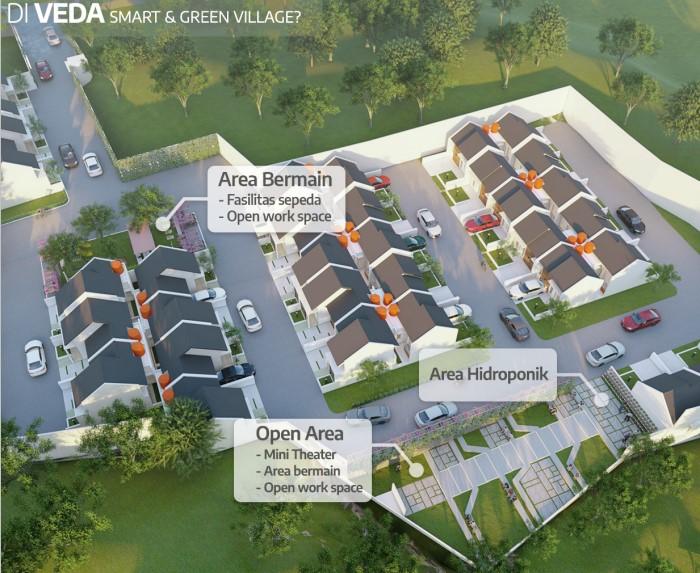 Veda Smart Living and Green Village – Rumah Full Furnished Dekat Kampus IPB Bogor 15