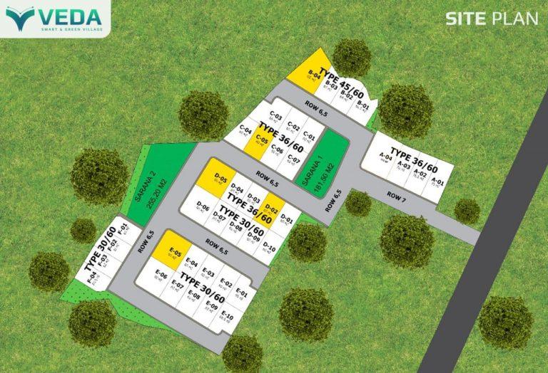 Veda Smart Living and Green Village – Rumah Full Furnished Dekat Kampus IPB Bogor 14