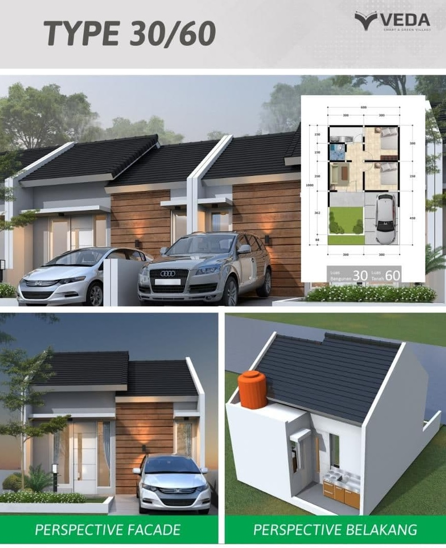 Veda Smart Living and Green Village – Rumah Full Furnished Dekat Kampus IPB Bogor 5