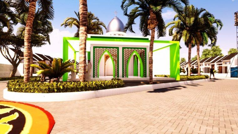 masjid di perumahan tangerang