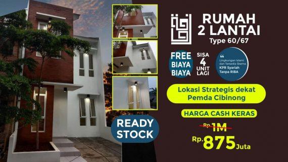 Rumah 2 Lantai di Cibinong Siap Huni – Raudhoh Residence Cibinong