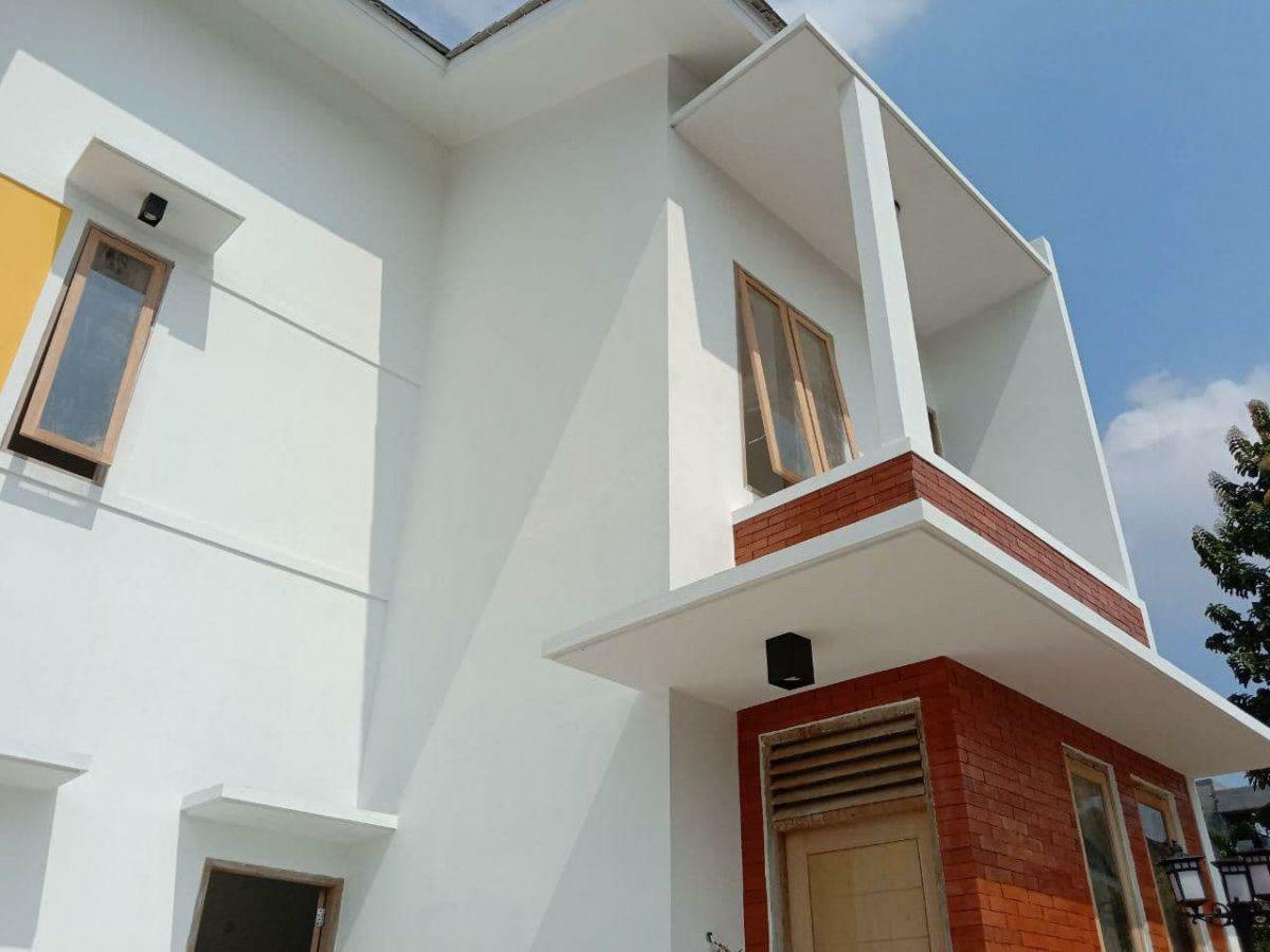 rumah 2 lantai raudhoh residence