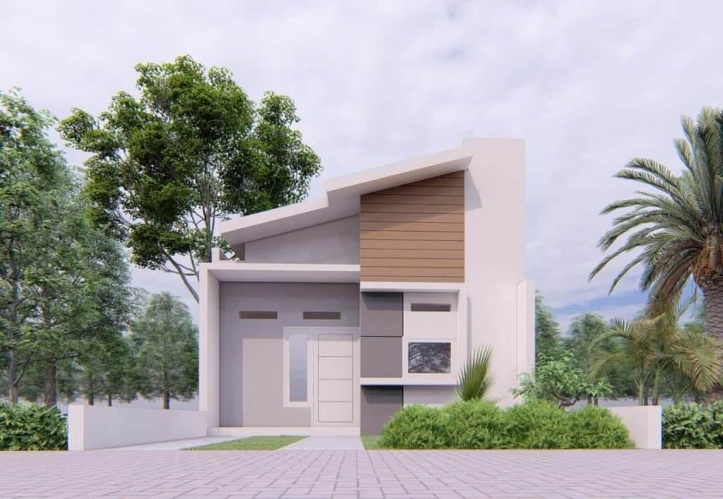 facade rumah aqilla sharia village