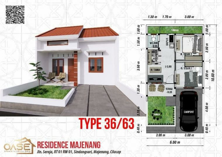 oase residence majenang