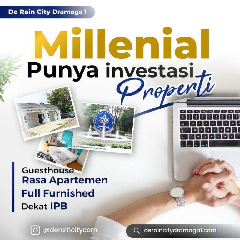Deraincity Dramaga 1 - Investasi Properti Menghasilkan Berupa Guesthouse Full Furnished Dekat IPB 1