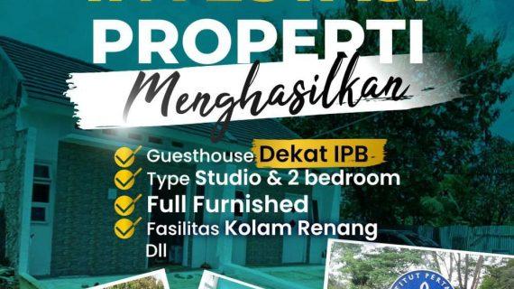Deraincity Dramaga 1 – Investasi Properti Menghasilkan Berupa Guesthouse Full Furnished Dekat IPB