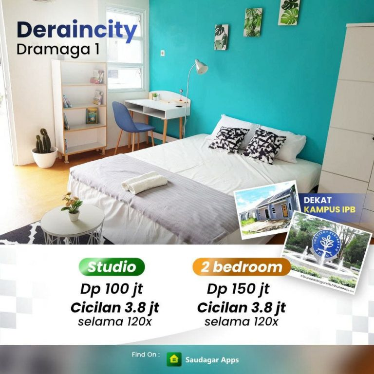 Deraincity Dramaga 1 - Investasi Properti Menghasilkan Berupa Guesthouse Full Furnished Dekat IPB 2