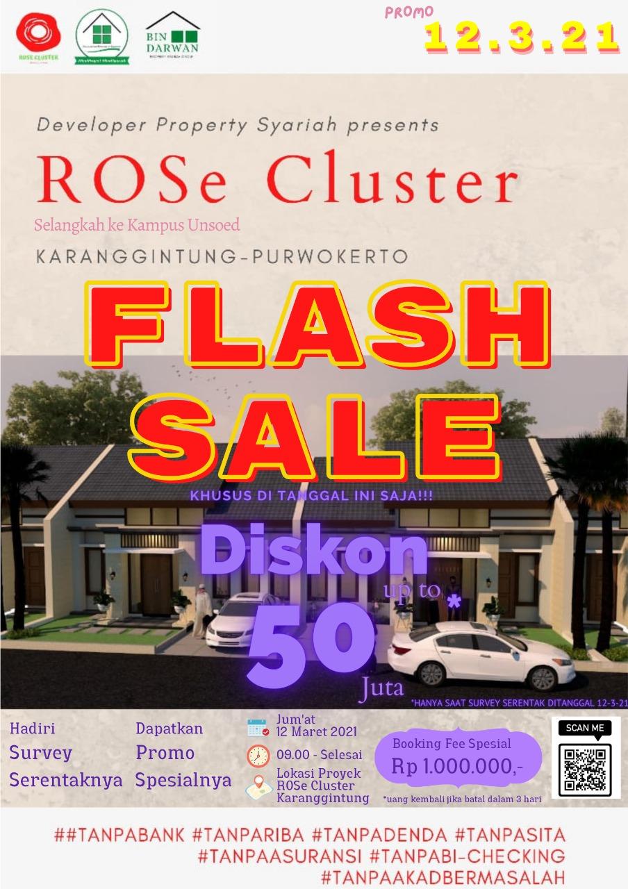 promo rose cluster karanggintung purwokerto