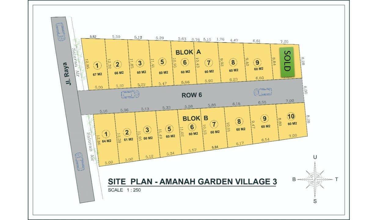 siteplan rumah syariah pamulang
