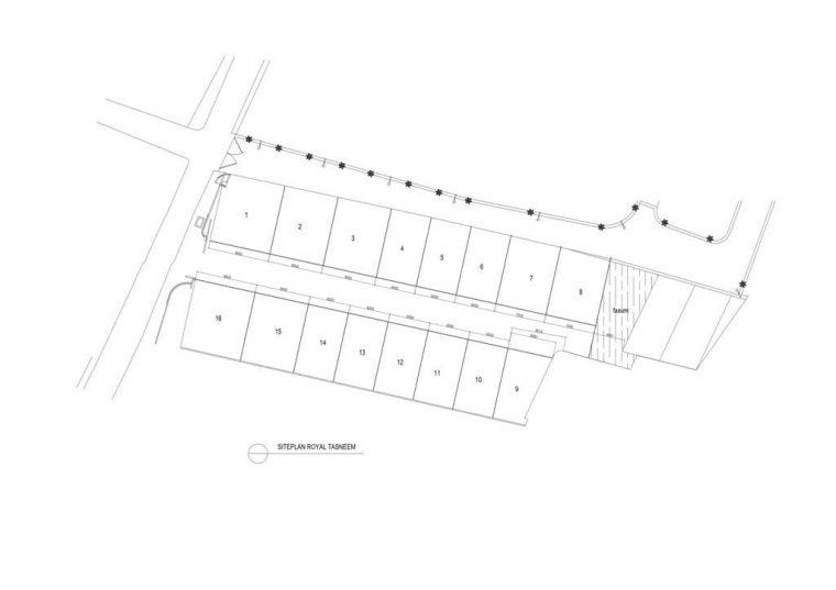 siteplan rumah 2 lantai jakarta