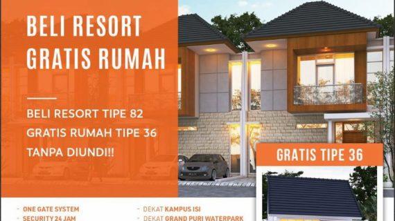 Beli Rumah Resort Type 82 di Jogja Gratis Beli Rumah Type 36