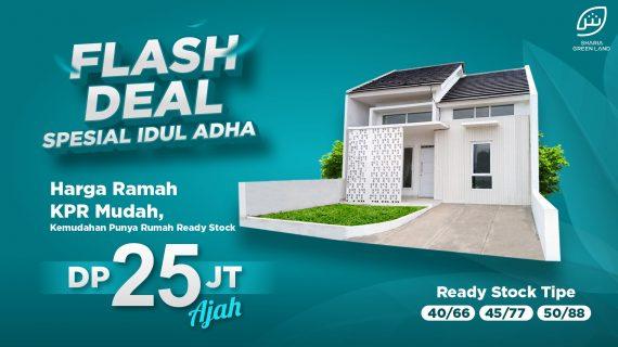 Flash Sale Rumah Syariah Purwakarta – Sukamanah Islamic Village