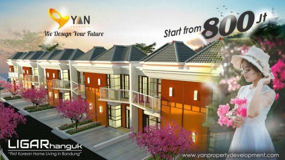 Ligar Villa's Dago – Rumah 2 Lantai Bergaya Korea di Kawasan Elit Awiligar Raya Bandung